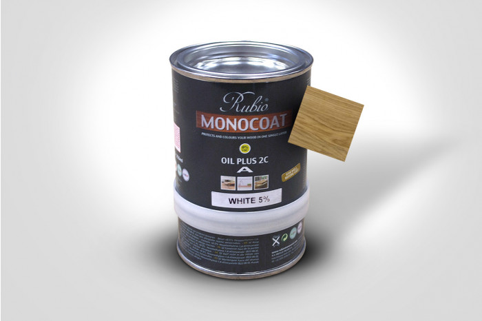 Monocoat 350ML - White 5%